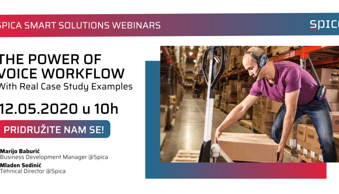 Špica Smart Solutions Webinar: The Power of Voice Workflow – With Real Case Study Examples